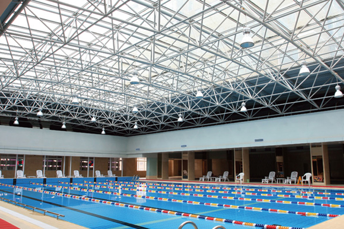 Swimming hall of shenyang institute of physical education